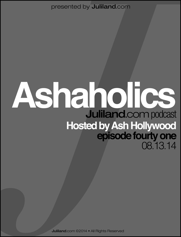 Ashaholics_e41 • Twitter Q&A